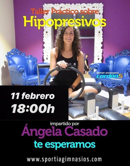 Taller de hipopresivos con Ángela Casado