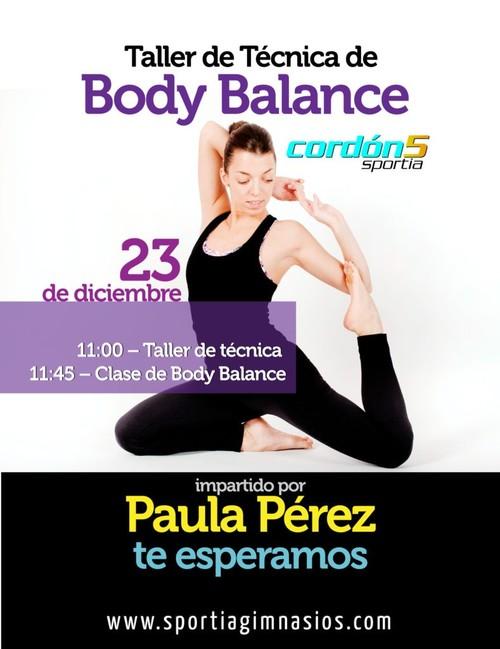 Taller de BodyBalance: Más yoga que nunca.