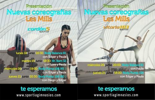 Ven a conocer nuestras nuevas coreografías Les Mills
