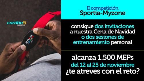 Segunda Competición Sportia – Myzone