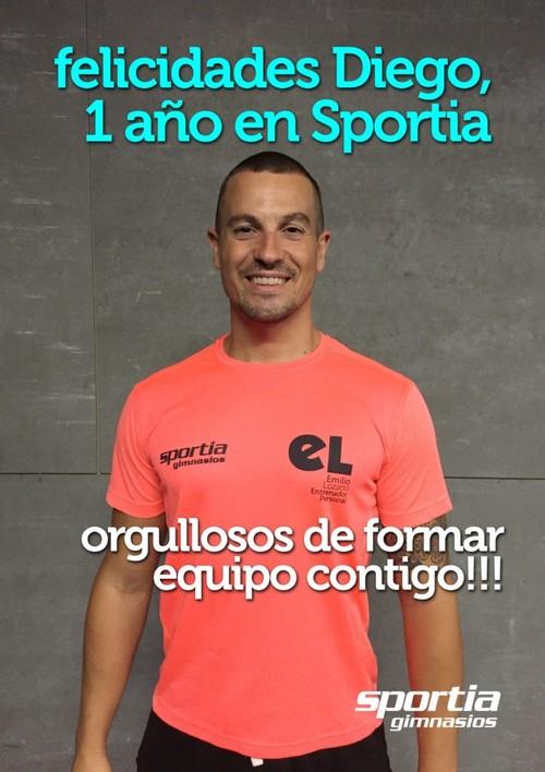 Diego Montes cumple 1 año en Sportia