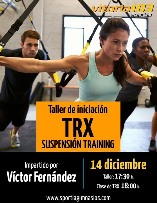 Taller de iniciación a TRX en Sportia Vitoria 103