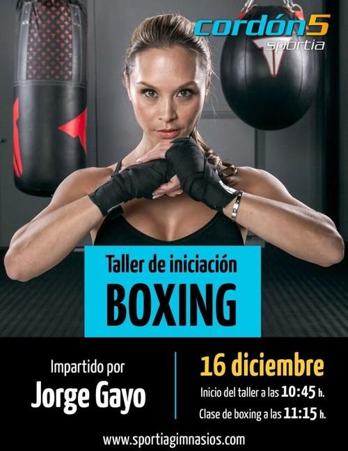 Taller de iniciación de Boxing en Cordón5