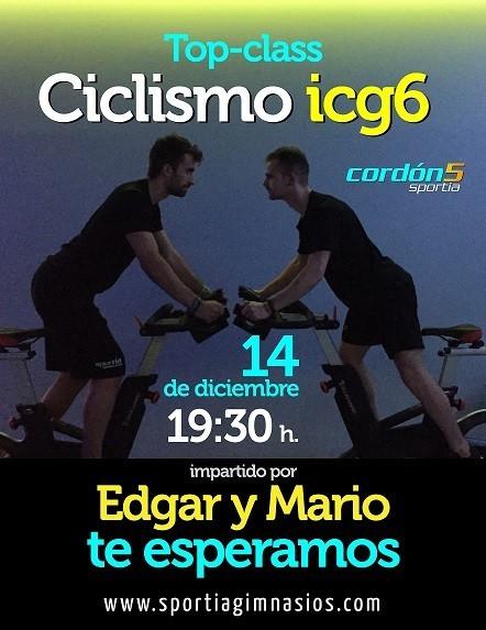 TOP – CLASS de Ciclo con Edgar y Mario