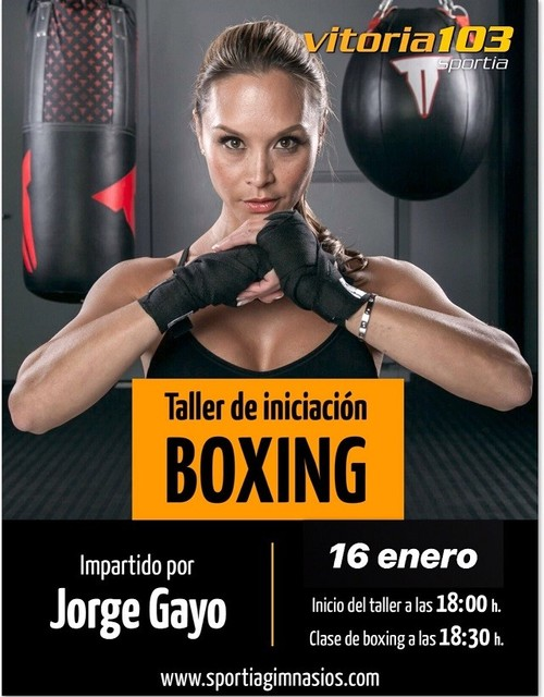 Taller de iniciación a Boxing