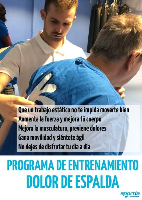 Programa de entrenamiento Dolor Espalda
