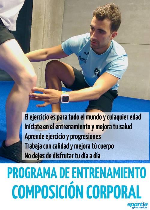 Programa de entrenamiento: Composición corporal