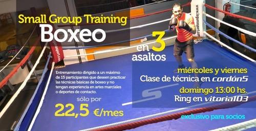 Entrenamiento de boxeo con Mateo Rúa