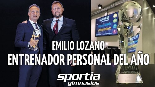 Emilio Lozano, premio al Mejor Entrenador Personal del año