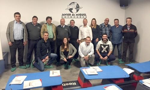 Los conductores de autocares, protagonistas del primer Programa Sportia Empresas Saludables