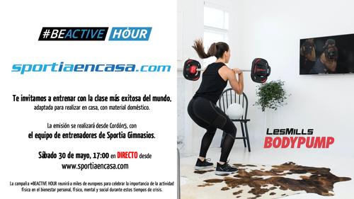 #Beactive Hour: en Sportia en casa