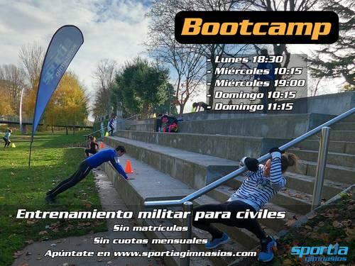 Bootcamp: entrenamiento al aire libre