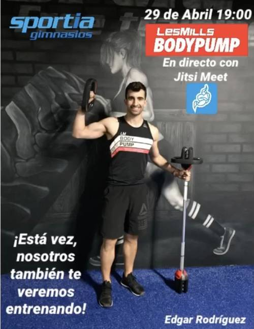 Masterclass Bodypump: te vemos desde casa
