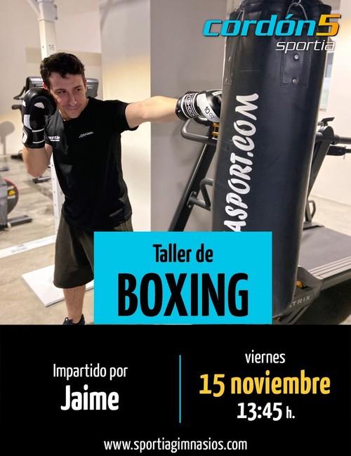 Taller de Boxing: Cordón5 y Vitoria103