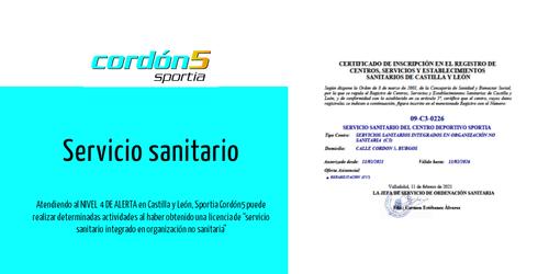 Nueva Carta de servicios Sportia Gimnasios